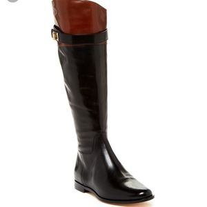 Cole Haan Daelin Leather Riding Boot